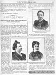 Mme Madeleine Gebelin-Brès (Paris) / Mme Rose Mouton-Perrée-Raimond (Paris) / Mlle Anna Kuhnow (Leip [...]