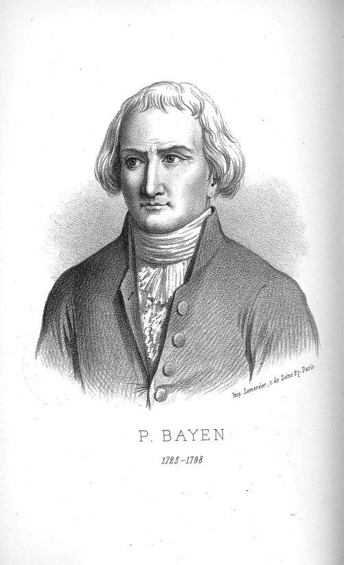 Pierre Bayen 1725-1798. Chimiste - Pierre Bayen chimiste, étude biographique - Savants (sciences). 18e siècle (France) - med90945x24x03x0002
