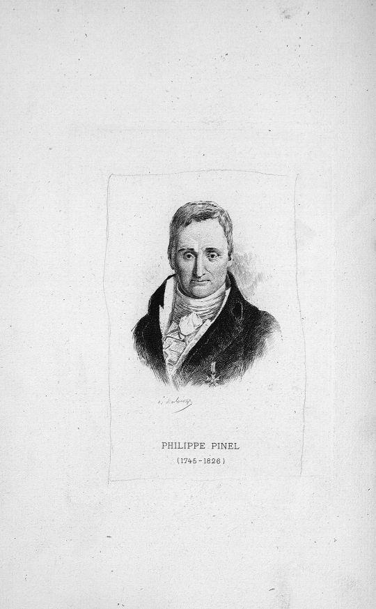 Philippe Pinel (1745-1826) - Philippe Pinel et son oeuvre au point de vue de la médecine mentale - Médecins. 18e siècle, 19e siècle (France) - med90945x38x07x0004