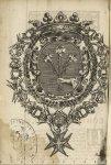 [Frontispice : armoiries de Desmaret de Maillebois] - Quaestio medica an plerisque morbis chronicis  [...]
