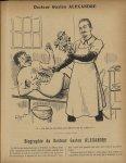[Caricature du Docteur Gaston Alexandre] - Le Rictus :  journal humoristique mensuel. 1912