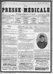 E. De Lavarenne - Le Dr de Lavarenne, fondateur de la Presse médicale - Presse médicale