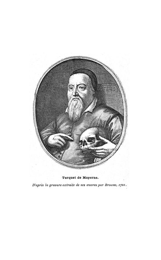 Turquet de Mayerne - Bulletin de la Société française d'histoire de la médecine - 18e siècle - medbsfhmx1909x08x0178