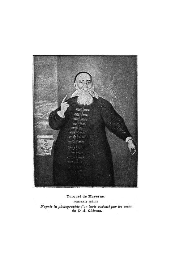 Turquet de Mayerne - Bulletin de la Société française d'histoire de la médecine -  - medbsfhmx1909x08x0181