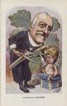 [Caricature] Le Professeur Fournier (B. Moloch) - Chanteclair