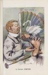[Caricature] Le Docteur Babinski (Georges Villa) - Chanteclair