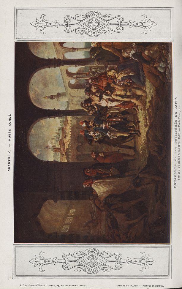Bonaparte et les pestiférés de Jaffa (Baron Gros, 1771-1835) - Chanteclair -  - medchanteclx1924x14x0072
