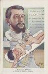 [Caricature] Le Professeur Jeanbrau de la Faculté de médecine de Montpellier (H. Frantz) - Chantecla [...]
