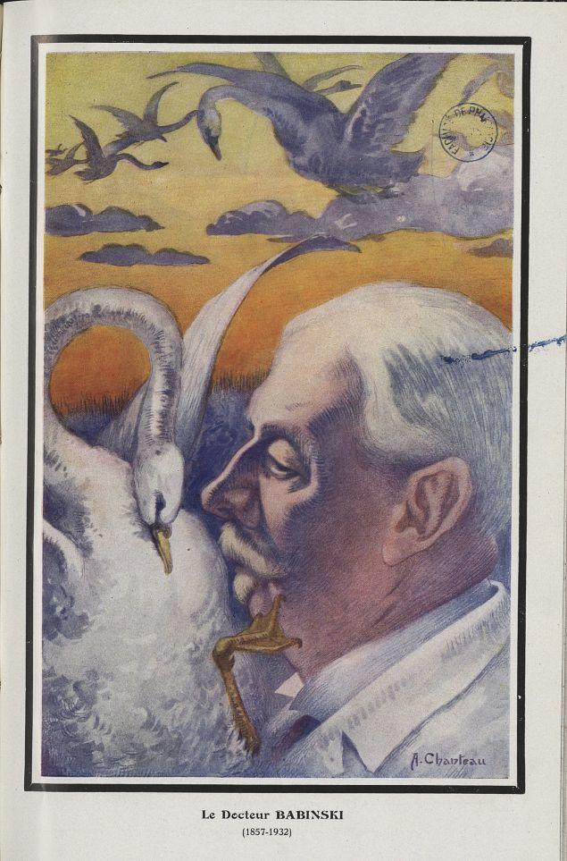 [Caricature] Le Docteur Babinski (1857-1932) (A. Chanteau) - Chanteclair -  - medchanteclx1933x23x0003