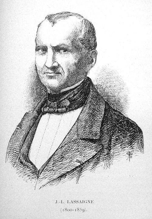 Jean-Louis Lassaigne (1800-1859)