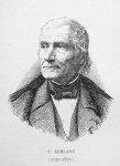 U. Leblanc (1797-1871) - Biographies vétérinaires, avec 42 portraits dessinés par l'auteur