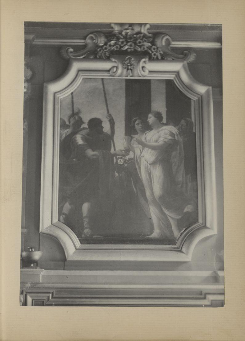 [Tableau sur la cheminée de la salle des Actes attribué à Charles Poerson, de l'école de Simon Vouet [...] -  - medextcnop0003x0003