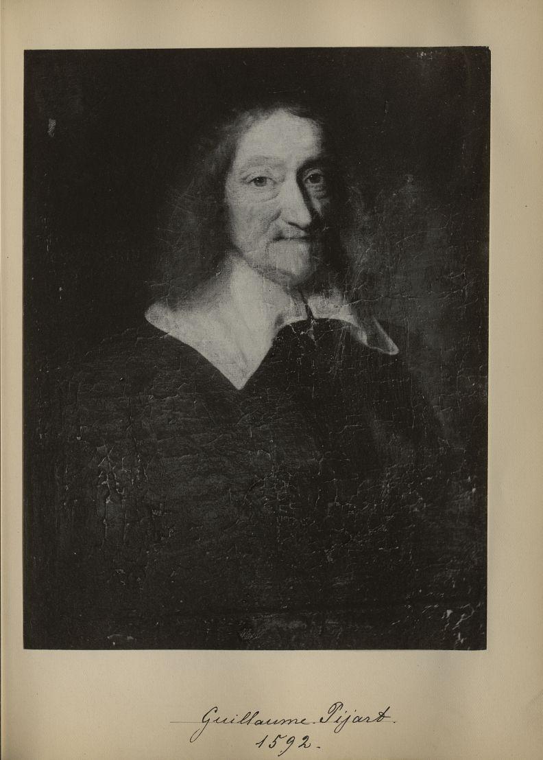 [Portrait de la salle des Actes] Guillaume Pijart 1592 - Album de platinotypies. Tableaux de la sall [...] -  - medextcnop0003x0014