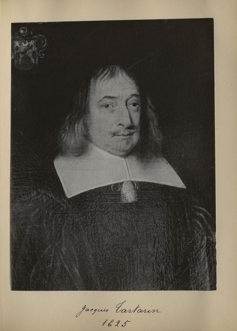 [Portrait de la salle des Actes] Jacques Tartarin 1625 - Album de platinotypies. Tableaux de la sall [...] -  - medextcnop0003x0026