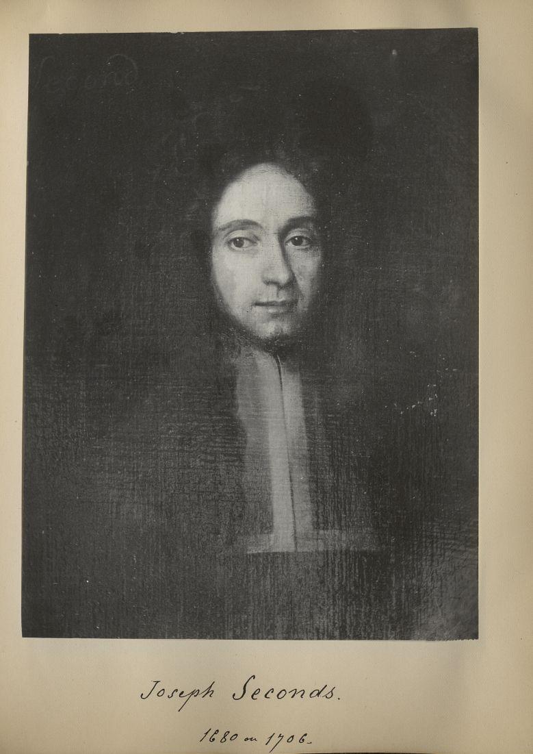 [Portrait de la salle des Actes] Joseph Seconds 1680 ou 1706 - Album de platinotypies. Tableaux de l [...] -  - medextcnop0003x0042