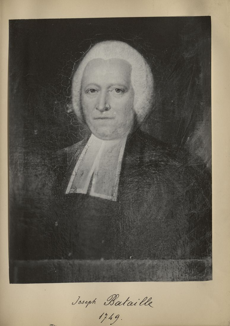 [Portrait de la salle des Actes] Joseph Bataille 1749 - Album de platinotypies. Tableaux de la salle [...] -  - medextcnop0003x0065
