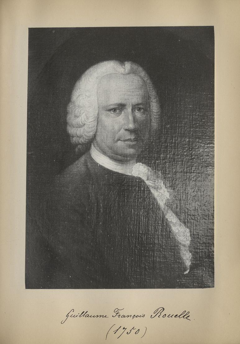 [Portrait de la salle des Actes] Guillaume François Rouelle 1750 - Album de platinotypies. Tableaux  [...] -  - medextcnop0003x0066