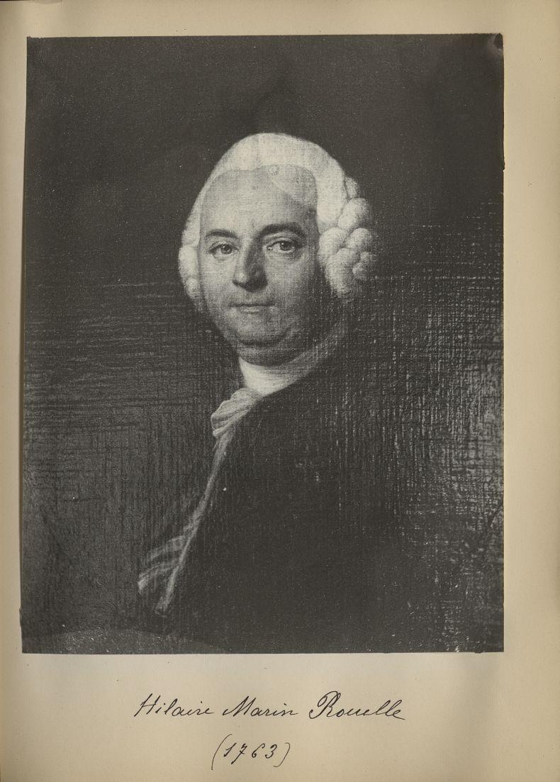 [Portrait de la salle des Actes] Hilaire Marin Rouelle 1763 - Album de platinotypies. Tableaux de la [...] -  - medextcnop0003x0071