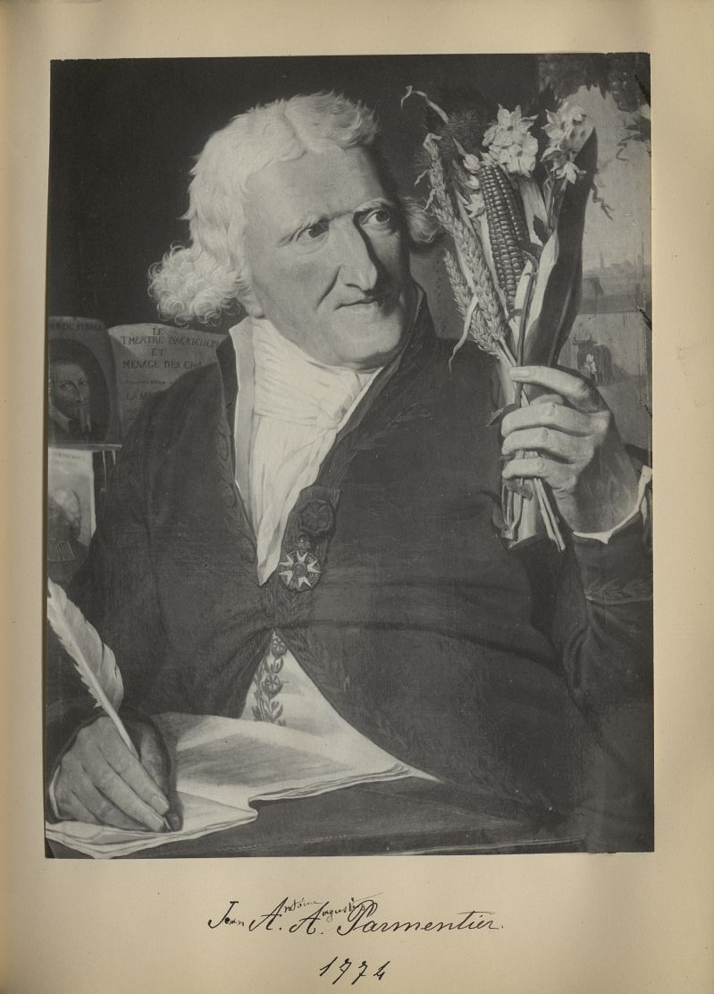 [Portrait de la salle des Actes] Jean Antoine Augustin Parmentier 1774 - Album de platinotypies. Tab [...] -  - medextcnop0003x0073