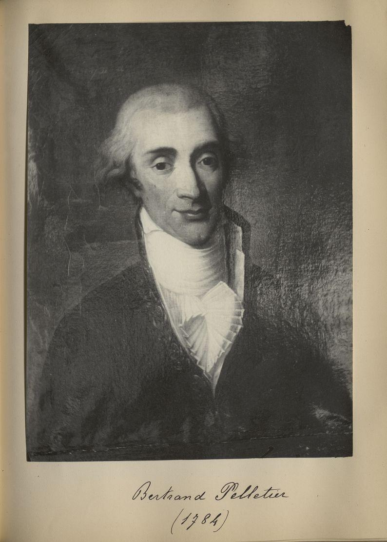 [Portrait de la salle des Actes] Bertrand Pelletier 1784 - Album de platinotypies. Tableaux de la sa [...] -  - medextcnop0003x0076