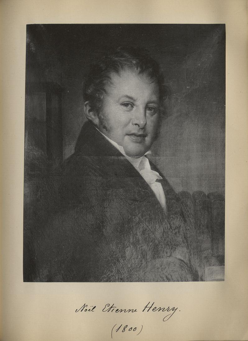 [Portrait de la salle des Actes] Noël Etienne Henry 1800 - Album de platinotypies. Tableaux de la sa [...] -  - medextcnop0003x0082