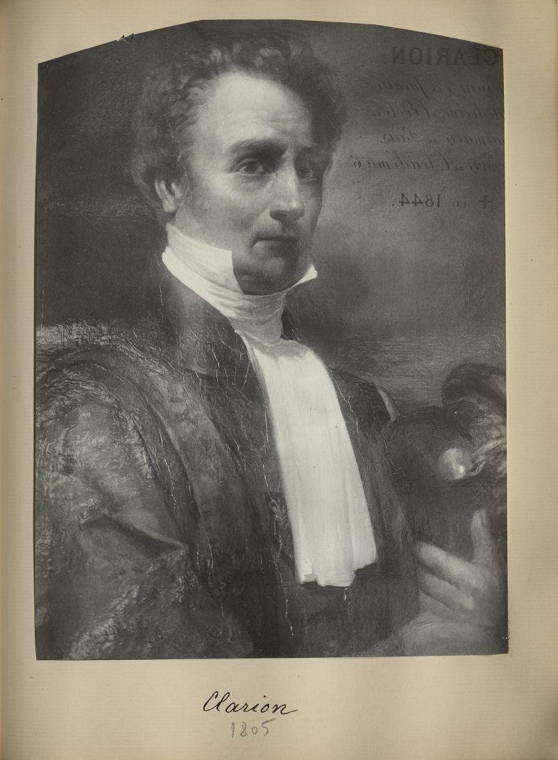 [Portrait de la salle des Actes] Clarion 1805 - Album de platinotypies. Tableaux de la salle des Act [...] -  - medextcnop0003x0083