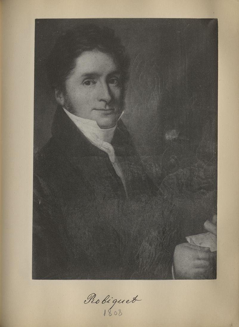[Portrait de la salle des Actes] Robiquet 1808 - Album de platinotypies. Tableaux de la salle des Ac [...] -  - medextcnop0003x0084