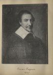 [Portrait de la salle des Actes] François Fraguier 1607 - Album de platinotypies. Tableaux de la sal [...]