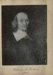 [Portrait de la salle des Actes] Mathurin La Fontaine 1623 - Album de platinotypies. Tableaux de la  [...]