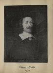 [Portrait de la salle des Actes] Thomas Noblet 1633 - Album de platinotypies. Tableaux de la salle d [...]