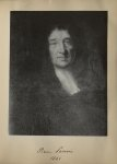 [Portrait de la salle des Actes] Pierre Lenoir 1641 - Album de platinotypies. Tableaux de la salle d [...]