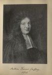 [Portrait de la salle des Actes] Mathieu François Geoffroy 1666 - Album de platinotypies. Tableaux d [...]