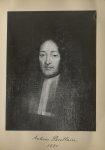 [Portrait de la salle des Actes] Antoine Poullain 1681 - Album de platinotypies. Tableaux de la sall [...]