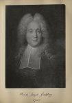 [Portrait de la salle des Actes] Claude Joseph Geoffroy 1703 - Album de platinotypies. Tableaux de l [...]