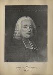 [Portrait de la salle des Actes] Jacques Hennique 1720 - Album de platinotypies. Tableaux de la sall [...]