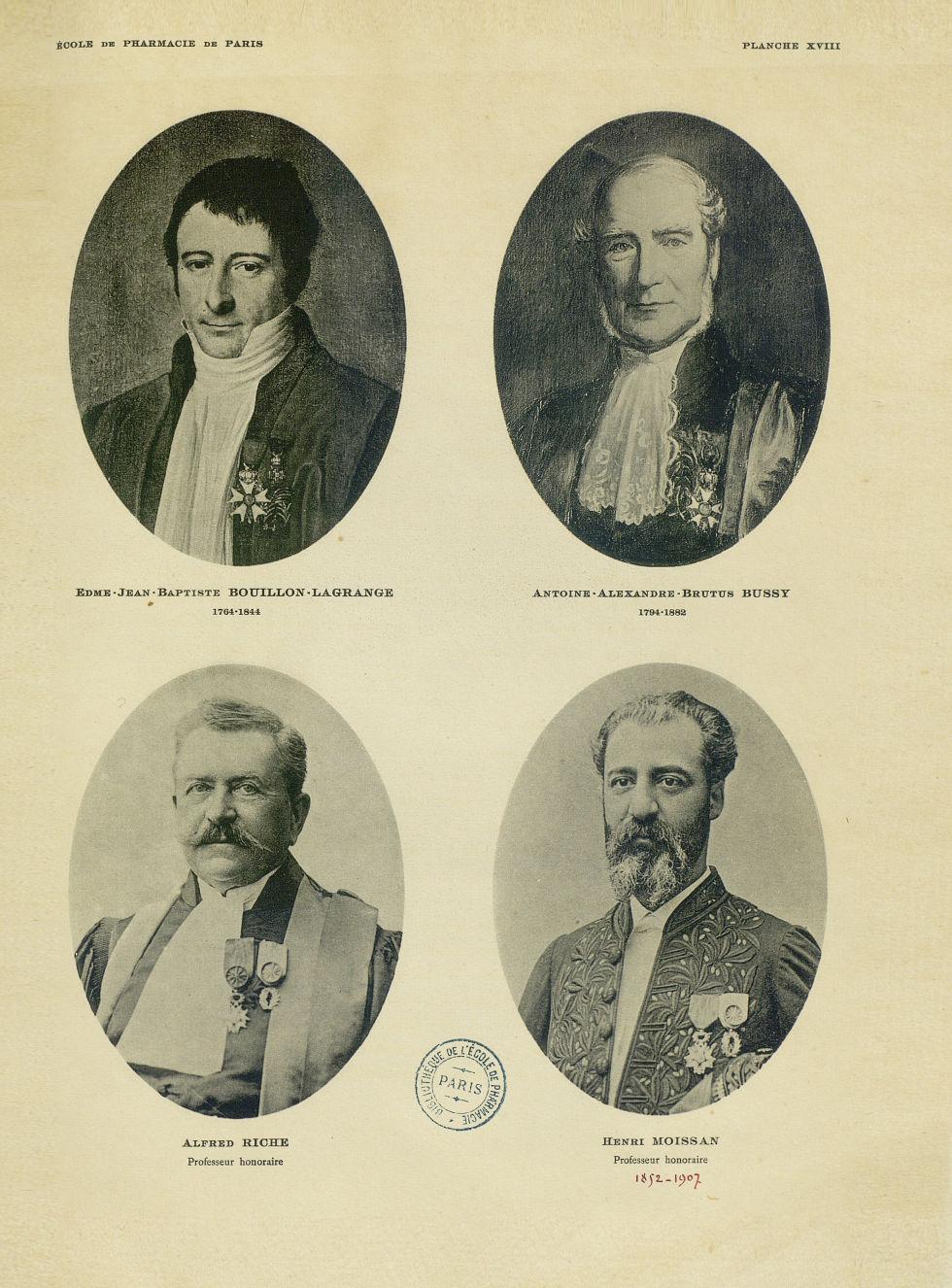 Edme-Jean-Baptiste Bouillon-Lagrange 1764-1844 / Antoine-Alexandre-Brutus Bussy 1794-1882 / Alfred R [...] -  - medpharma_006465x0339