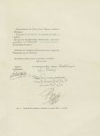 Fig. 6 : Fac-simile d'un Certificat de prestation de serment (1808) - 2ème partie - Centenaire de l' [...]