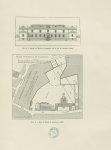 Fig. 8 : Façade de l'École de pharmacie sur la rue de l'Arbalète / Fig. 9 : Plan de l'École de pharm [...]