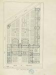 Fig. 13 : Plan de l'École en 1882 [Faculté de pharmacie de Paris] - Centenaire de l'École supérieure [...]