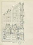 Plan de l'École en 1903 [Faculté de pharmacie de Paris] - Centenaire de l'École supérieure de pharma [...]