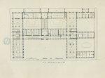 Plan du 1er étage en 1903 [Faculté de pharmacie de Paris] - Centenaire de l'École supérieure de phar [...]