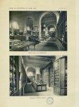 [Photographie :] Salle de lecture de la bibliothèque / Collection de matière médicale [Faculté de ph [...]