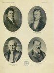 Pierre Robiquet 1780-1840 / Joseph Pelletier 1788-1842 / Gaston Guibourt 1790-1867 / Gustave Plancho [...]