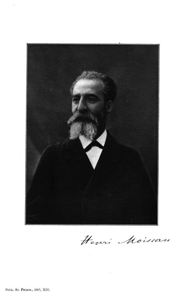 Henri Moissan - Bulletin des sciences pharmacologiques : organe scientifique et professionnel [Bulle [...] -  - medpharma_p31249x1907x1401x0187