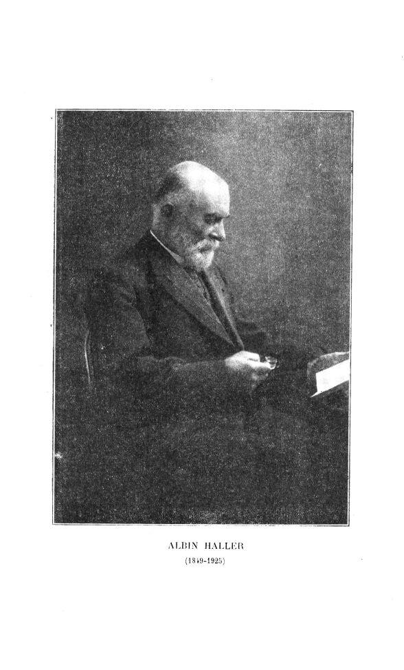 Albin Haller (1849-1925) - Bulletin des sciences pharmacologiques : organe scientifique et professio [...] -  - medpharma_p31249x1925x3201x0350