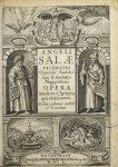 Angeli Salae … Opera medico-chymica quae extant omnia. [Hippocrate / Hermes] - Angeli Salæ Vicentini [...]
